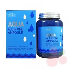 SCINIC Увлажняющая сыворотка Aqua All in One Ampoule