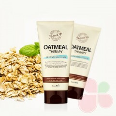 CALMIA Овсянная пенка для умывания Oatmeal Therapy Cleansing Foam