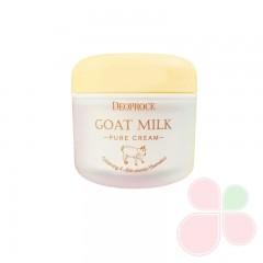 DEOPROCE Антивозрастной крем с экстрактом козьего молока Goat Milk Pure Cream