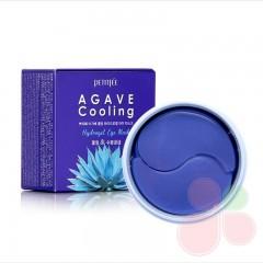 PETITFEE Охлаждающие гидрогелевые патчи с экстрактом агавы Agave Cooling Hydrogel Eye Mask