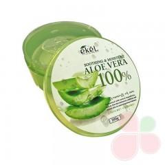 EKEL Увлажняющий гель с экстрактом алоэ вера Soothing & Moisture Aloe Vera 100% Gel