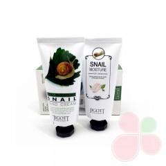 JIGOTT Набор с кремами для рук и ног Real Moisture Hang & Foot Cream Set