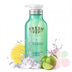 FRESHPOP Шампунь глубоко очищающий для волос на основе мохито Green Herb Recipe Shampoo