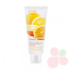 3W Clinic Крем для рук увлажняющий с экстрактом ЛИМОНА Lemon Hand Cream