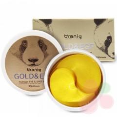 BYANIG Гидрогелевые патчи для век с золотом Gold&EGF Hydrogel Eye & Spot Patch