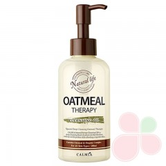 CALMIA Гидрофильное масло с экстрактом масла овсянки Oatmeal Therapy Cleansing Oil