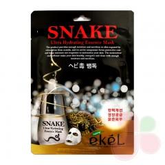 EKEL Маска со змеиным ядом Snake Ultra Hydrating Essence Mask