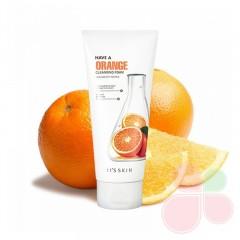 IT'S SKIN Пенка для ежедневного умывания с экстрактом апельсина Have A Orange Cleansing Foam