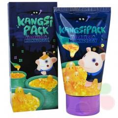 ELLIZAVECCA Маска для лица с 24 каратным золотом Milky Piggy Kangsi pack
