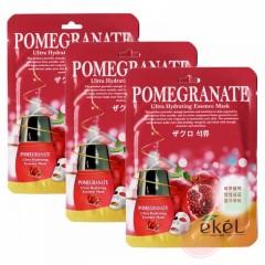 EKEL Маска с экстрактом граната Ultra Hydrating Essence Mask Pomegranate