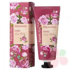 FARMSTAY Крем с экстрактом лепестков розы  Flower Blooming Hand Cream