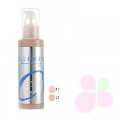 ENOUGH Тональный крем с коллагеном и гиалур/кислотой Collagen Whitening Moisture SPF15 тон 21