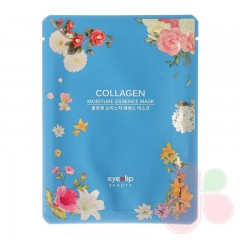 EYENLIP Маска для лица тканевая с коллагеном Collagen Oil Moisture Essence Mask