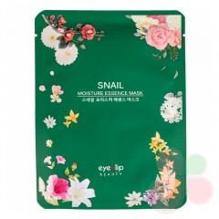 EYENLIP Тканевая маска для лица с улиткой Moisture Essence Mask Snail