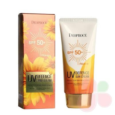 DEOPROCE Легкий увлажняющий солнцезащитный крем UV Defence Sun Protector SPF50+/PA+++