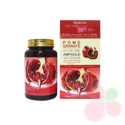 FARMSTAY Многофункциональная ампульная сыворотка с экстрактом граната Pomegranate