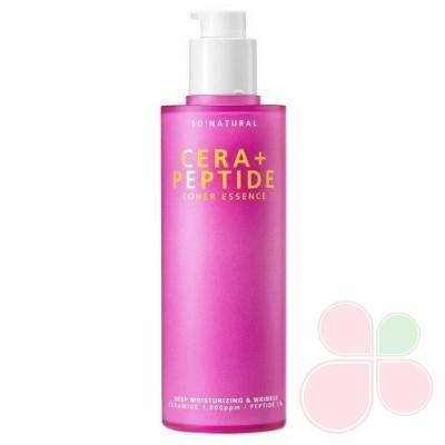 SO NATURAL Пептидная эссенция для зрелой кожи Cera+ Peptide Toner Essence
