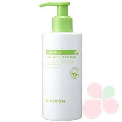 MIZON Очищающий гель для чувствительной кожиPore Fresh Mild Acid Gel Cleanser