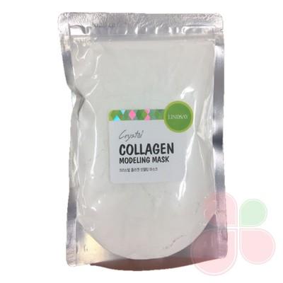 LINDSAY Альгинатные маски с ложкой-лопаткой - коллаген Collagen Modeling Mask Pack