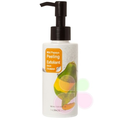 THE FACE SHOP Пилинг-скатка с экстрактом папайи Smart Peeling Mild Papaya