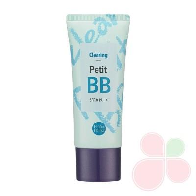 HOLIKA HOLIKA ББ-крем очищающий с маслом чайного дерева Petit BB Clearing