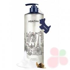 AGATHA Увлажняющий шампунь с муцином улитки и маслами Escargot Oil Shampoo 240ml
