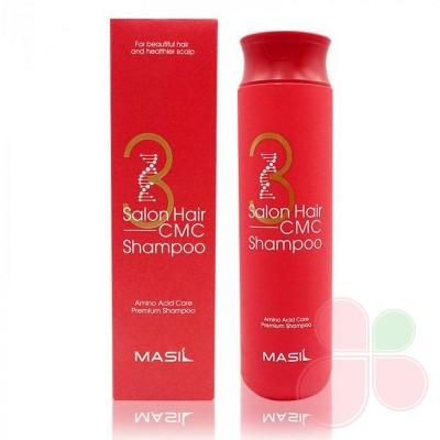 MASIL Восстанавливающий профессиональный шампунь с керамидами 3 Salon Hair CMC Shampoo