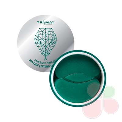 TRIMAY Гидрогелевые лифтинг-патчи со змеиным пептидом Emerald Syn-Ake Peptide Lifting Eye Patch