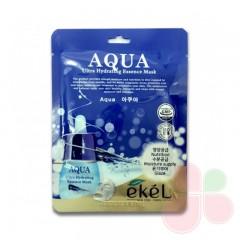 EKEL Тканевая маска для лица увлажняющая Aqua Ultra Hydrating Essence Mask