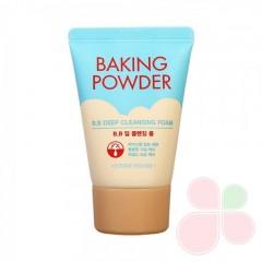 ETUDE HOUSE Очищающая пенка для снятия ББ-крема 30 мл с содой Baking Powder B.B Deep Cleansing Foam