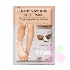 LABUTE Маска для ног Shiny & Smooth Foot Mask