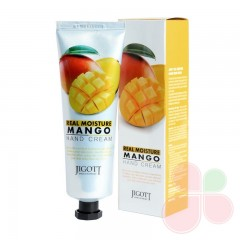 JIGOTT Крем для рук с экстрактом манго Real Moisture Mango Hand Cream