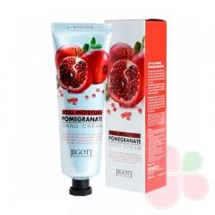 JIGOTT Крем для рук с экстрактом граната Real Moisture Hand Cream Pomegranate