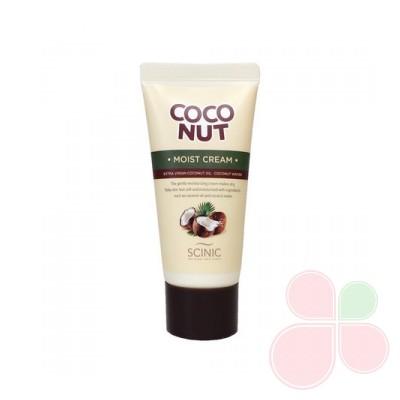 SCINIC Увлажняющий крем с кокосовым маслом Coconut Moist Cream