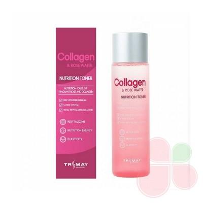 TRIMAY Питательный тонер с коллагеном и розовой водой Collagen Rose Water Nutrition Tone (new)
