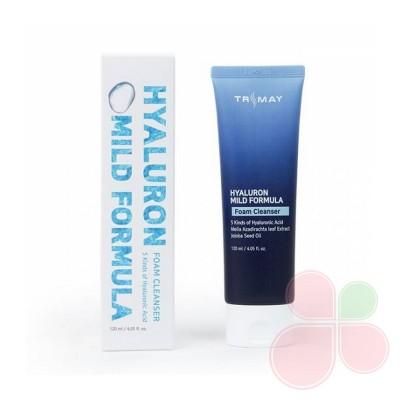 TRIMAY Мягкая пенка для умывания Hyaluron Mild Formula Cleansing Foam