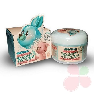 ELIZAVECCA Гиалуроновый крем-пудинг для лица Moisture Hyaluronic Acid Memory Cream