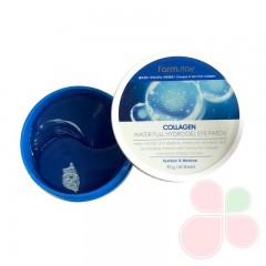 FARMSTAY Гидрогелевые патчи для век с коллагеном Collagen Water Full Hydrogel Eye Patch