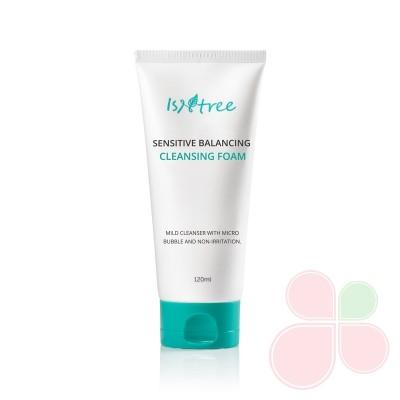 ISNTREE Пенка для умывания для чувствительной кожи Sensitive Balancing Cleansing Foam