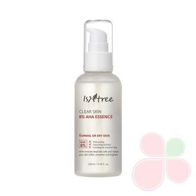 ISNTREE Отшелушивающая эссенция с AHA-кислотами Clear Skin 8% AHA Essence