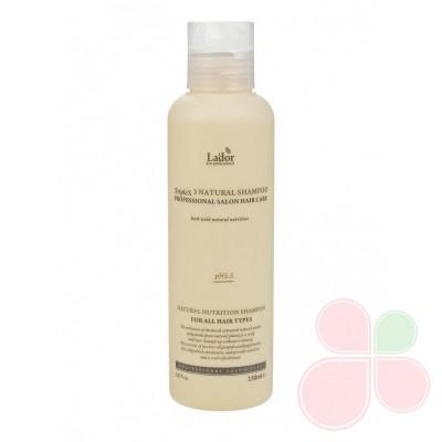 LADOR Шампунь с натуральными ингредиентами Triplex3 natural shampoo