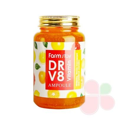 FARMSTAY Многофункциональная ампульная сыворотка с витаминами Dr-V8 Vitamin Ampoule