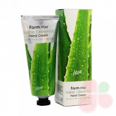 FARMSTAY Крем для рук с алоэ вера Visible Difference Aloe Vera Hand Cream