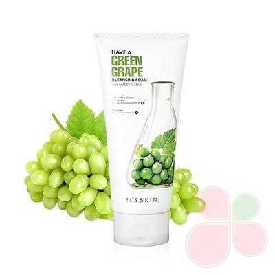 IT'S SKIN Пенка для ежедневного умывания с экстрактом зеленого винограда Have A Grape Cleansin Foam