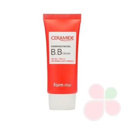 FARMSTAY Укрепляющий вв крем с керамидами Ceramide Firming Facial Bb Cream Spf 50+/pa+++
