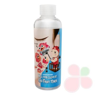 ELIZAVECCA Тоник-пилинг с фруктовыми кислотами Hell-Pore Clean Up Aha Fruit Toner