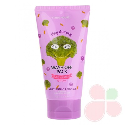 ETUDE HOUSE Маска для проблемной кожи с экстрактом брокколи Therapy Wash Off Pack