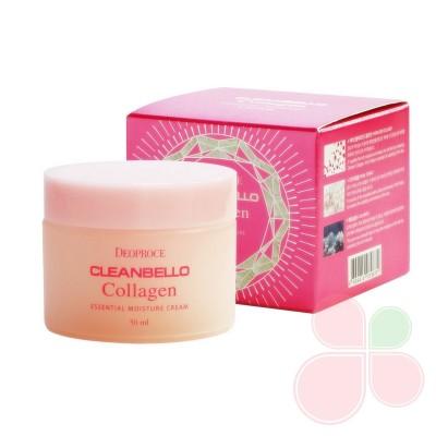 DEOPROCE Увлажняющий крем для лица с коллагеном Cleanbello Collagen Essential Moisture Cream
