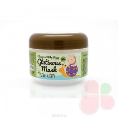 ELIZAVECCA Ночная маска для лица с муцином улитки Milky Piggy Glutinous Mask 80% Snail Cream