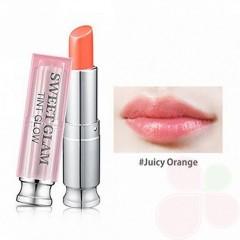 SECRET KEY Бальзам–тинт для губ для усиления натурального цвета Sweet Glam Tint Glow Juicy Orange